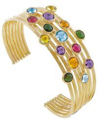 Marco Bicego - Jaipur 18k Gemstone Cuff Bracelet - Lyst