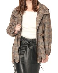 Ba&sh Wool-blend Coat - Brown