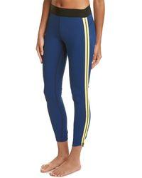 Athleta & Derek Lam Parallel Zip Tight - Blue