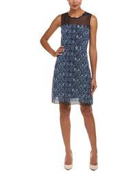 Elie Tahari A-line Dress - Blue