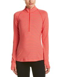 Mountain Hardwear - Butterlicious Stripe Long Sleeve 1/2 Zip - Lyst