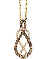 Le Vian ? 14k 0.57 Ct. Tw. Diamond Necklace - Metallic