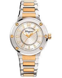 Ferragamo F-80 Watch - Metallic