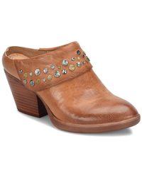 Söfft Gila Leather Mule - Brown