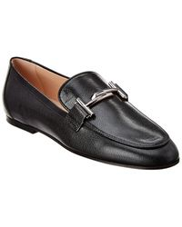 Tod's Leather Loafer - Black