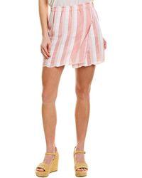 lemlem Lulu Mini Skirt - Pink