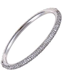 David Yurman - David Yurman 18k 4.00 Ct. Tw. Diamond Bangle - Lyst