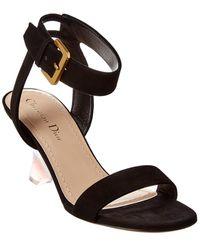 Dior Sphere Suede Sandal - Black