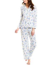 All Colors NWT Carole Hochman Ladies/' 2-Piece Cotton Capri Pajama Set Sizes