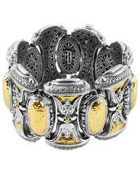 Konstantino Aspasia 18k & Silver Bracelet - Metallic