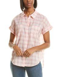 NYDJ Camp Shirt - Pink