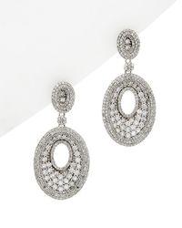 Diana M. Jewels . Fine Jewelry 14k 2.75 Ct. Tw. Diamond Drop Earrings - Metallic