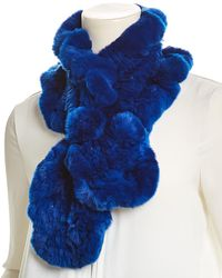 Surell Pull-through Scarf - Blue