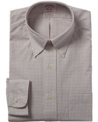 Brooks Brothers 1818 Madison Fit Dress Shirt - Red