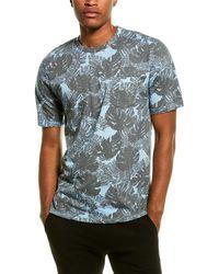 Threads For Thought Skipper Monstera T-shirt - Blue