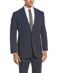 Brooks Brothers Wool-blend Nested Suit - Blue