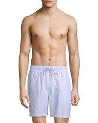 Brooks Brothers - Stripe Swim Short - Lyst