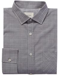 Billy Reid Holt Dress Shirt - Gray