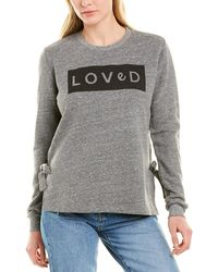 Sol Angeles Loved Pullover - Gray