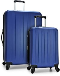 Elite Luggage Havana 2pc Spinner Luggage Set - Blue
