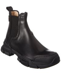 Gucci Leather Boot - Black