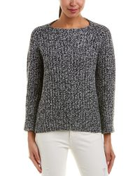 Vince - Marled Wool & Cashmere-blend Sweater - Lyst