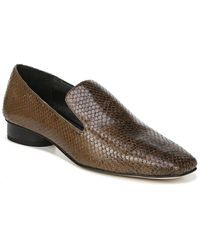 Franco Sarto Faith Leather Loafer - Brown