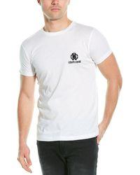 Roberto Cavalli Graphic T-shirt - White