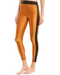 Koral Activewear Atom Mid-rise Sprint Legging - Orange