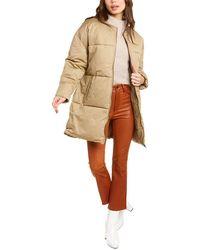 Rebecca Minkoff Puffer Coat - Natural