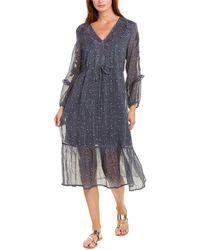 Dolan Zoe Midi Dress - Blue