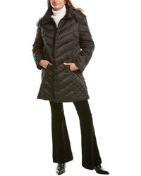 Kenneth Cole New York Quilted Coat - Black