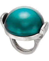 Uno De 50 - Unode50 Silver Resin Ring - Lyst
