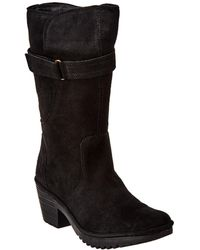 Fly London Woli Suede Boot - Black