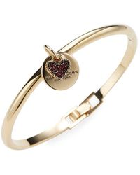 Marc By Marc Jacobs - Jewelry Mj Coin Hinge Cuff - Lyst
