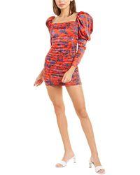 For Love & Lemons For Love & Lemons Monat Mini Dress - Red