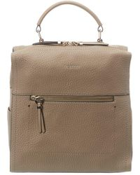 Fiorelli Anna Leather Backpack - Brown