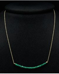 Meira T - 14k Ombre Gemstone Necklace - Lyst