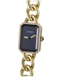 Chanel 18k Gold Diamond Premiere Watch - Metallic