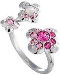 Swarovski Crystal Ring - Metallic