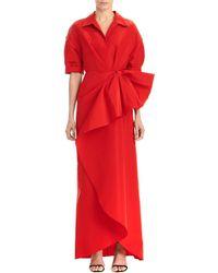 Carolina Herrera Gown - Red