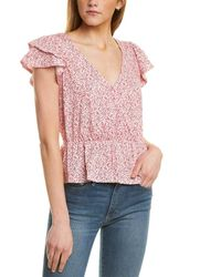 1.STATE Cross-front Top - Pink