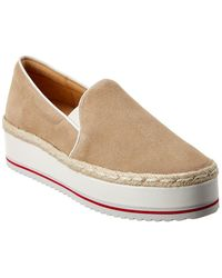 Joie Huxley Suede Trainer - Brown