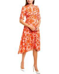 Donna Morgan Midi Dress - Red