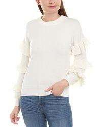 J.Crew Wool-blend Sweater - White