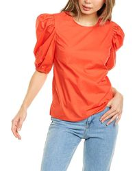 English Factory Top - Red