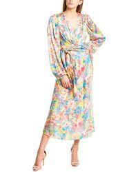 Ronny Kobo Mia Silk-blend Maxi Dress - Pink