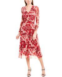 Fuzzi Sheath Dress - Pink