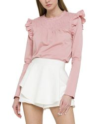English Factory Top - Pink