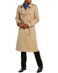 Burberry The Long Chelsea Trench Coat - Brown